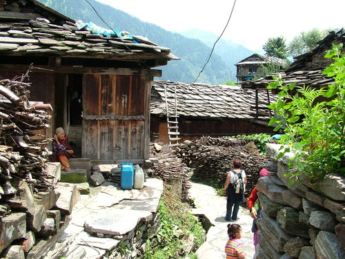 Old Manali arhitecture